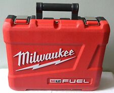 "BRAND NEW MILWAUKEE M12 FUEL HIGH IMPACT CASE FOR 2404-22  1/2"" HAMMER DRILL"