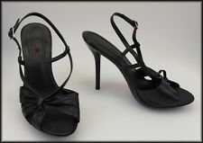 DUMOND WOMEN'S STILETTO-HEEL OPEN-TOE SLINGBACK SHOES SIZE 6, EUR 37