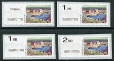 Weeda Canada 2016 Experimental Kiosk Computer-Generated Postage Lismer set of 4