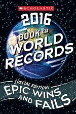 Scholastic Book of World Records 2016 by Jenifer Corr Morse (2015, Paperback)