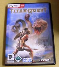 PC Game Spiel - Titan Quest - Deutsch komplett - DVD Rom