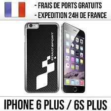 Coque iPhone 6 PLUS et 6S PLUS - Renault Sport Carbone