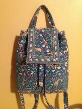 VERA BRADLEY MIMI BACKPACK IN RETIRED ANIMAL KINGDOM PRINT