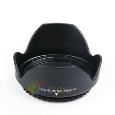 NEW 58mm Flower Lens Hood For Canon 700D 600D 650D 550D 1100D 1200D 100D 18-55MM