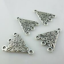 12pcs Tibetan Silver Earrings Charms Connectors Bails Jewelry Making 16x22mm