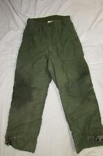 Vtg 80s 1985 US Army Extreme Cold Weather Pants Wool Lined Measure 30x28 Field