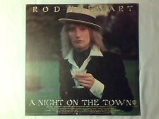 ROD STEWART A night on the town lp ITALY CAT STEVENS