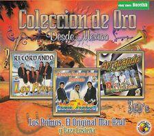 Los Primos,El Original Mar Azul y Raza Costena Coleccion de Oro 3CD New Nuevo