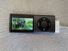 Apple iPod Nano 4th Generation Black - 8GB -  FAULTY BATTERY  -  885909260867