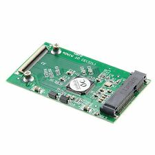"New cable Adapter PCI-E MSATA 50MM 3.3V SSD to 1.8"" CE/ZIF PATA 40pin"