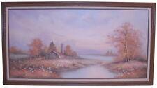 Oil on Canvas Landscape Art Painting Signed Bennett