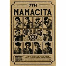 SUPER JUNIOR - [MAMACITA] 7th Album B Ver. CD+Photo Book+Photo Card Sealed K-POP