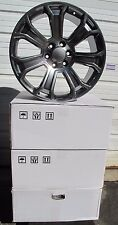 "22"" NEW CADILLAC ESCALADE FACTORY STYLE GUNMETAL WHEELS RIMS 5660"