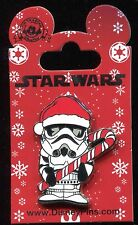 Star Wars Stormtrooper with Candy Cane Christmas Holiday Disney Pin 112071