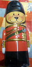 Harrods Money Box / Tin - London -GUARDSMAN BEAR-VGC