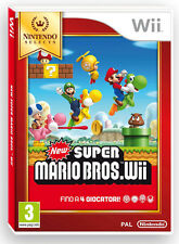 New Super Mario Bros Wii Selects Nintendo WII IT IMPORT NINTENDO