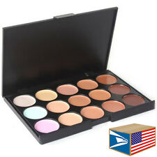 15 COLOR PALETTE MAKEUP KIT Camouflage Concealer MAKE UP COVER FOUNDATION SET!