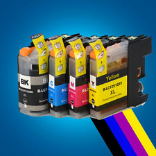 4 Chipped Ink Cartridge for Brother LC123 DCP-J4110DW MFC-J4410DW MFCJ4510DW 2