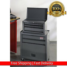 CRAFTSMAN 5 DRAWER ROLLING TOOLBOX GARAGE TOOL CART CABINET MECHANIC METAL CHEST