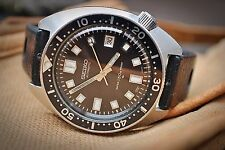 SEIKO 6105-8000 AUTOMATIC VINTAGE GENTS DIVER WATCH c1968-RARE ICON!