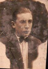 1928 DOCUMENTO DI RICONOSCIMENTO SU FOTOGRAFIA PODESTA' DI CALIZZANO 11-42
