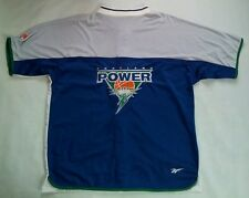 VINTAGE RARE ABL REEBOK PORTLAND POWER WARM UP SHOOTING JERSEY IN SIZE XL