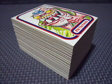 AWESOME ALL-STARS COMPLETE 127-CARD SET +3 WRAPPERS garbage pail kids