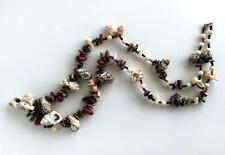 Necklace made out of genuine shells different shapes and sizes with ... Lot 1264