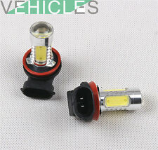 2 X LED Fog Light H11 Bulb For VW GTI MK6 Golf MK5 Touareg Jetta MK III GLI IV