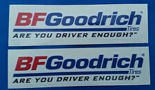 BFGoodrich (A) Racing Decals stickers nhra nhrda drags offroad hotrods imsa
