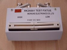 LCR/RCL/RCZ METER TEST FIXTURE- AXIAL/LEADS COMPONENT, TH2811D