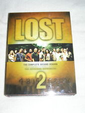 LOST   THE COMPLETE SECOND SEASON 7 DISC DVD SET