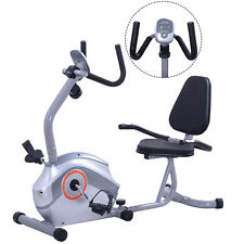 44b8a376b8d Goplus Recumbent Exercise Bike Magnetic Stationary Bicycle Cardio Workout  Home