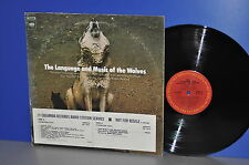 The Language and Music of the Wolves Robert Redford Vinyl LP strange collectible
