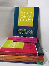 EL CLUB DE LOS SUICIDAS Y OTROS - STEVENSON Spanish Literature Libros EN Espanol