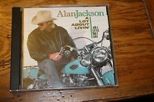 CD Alan Jackson A Lot About Livin'