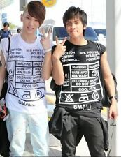 2NE1 Dara SHINee Key Jonghyun G-Dragon GD T-Shirt Kpop Fashion