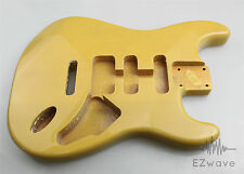 Blonde Finish Alder Guitar Body HSS Routing for Strat Guitar