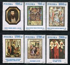 POLAND 1991 TREASURES NATL GALLERY-PAINTINGS/ART/ADORATION/MAGI/CHRIST/CODEX
