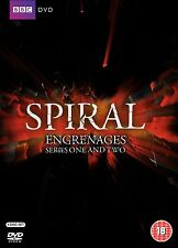 SPIRAL: French TV Series 1 + 2 [Engrenages] (DVD WS)~~~~~NEW & SEALED