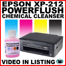 EPSON XP-212 Printhead Detergente UGELLO CLEANSER. HEAD Kit di pulizia