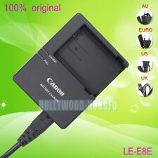 Genuine Canon LC-E8C LC-E8E Charger for LP-E8 Battery Canon EOS 550D 600D 700D