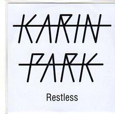 (EE570) Karin Park, Restless - DJ CD