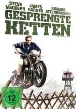 GESPRENGTE KETTEN The Great Escape STEVE McQUEEN Charles Bronson DVD Neu