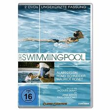 $ 2 DVDs * DER SWIMMINGPOOL (UNGEKÜRZT) | A. DELON R. SCHNEIDER # NEU OVP