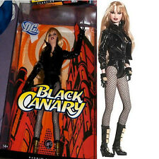 Black Canary Barbie Doll DC Comics Birds of Prey DC Universe Arrow CW TV RARE