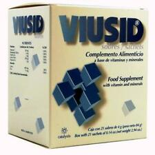 VIUSID*21 sachets(keep active all the organic functions&strengthen your defense)
