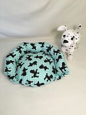 18 Inch Doll Pet Dog Cat Bed  Made To Fit American Girl Poseable Pets Poodle