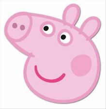 Peppa Pig Official Fun CARD Single Party Face Mask