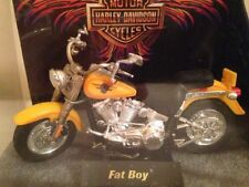 HARLEY DAVIDSON FAT BOY MOTORCYCLE HOT WHEELS  RARE ESTATE FIND
